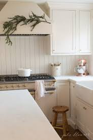 christmas kitchen decorating ideas with fresh greens and classic