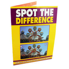 spot the difference puzzle book by alligator books brain teaser