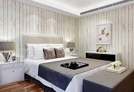 papier peint de chambre a coucher design interieur chambre coucher papier peint bois blanc vieilli