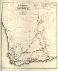 Map Of Southern Africa by Biodiversity Heritage Library Travels In Southern Africa William