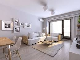 easy contemporary apartment interior design with minimalist look