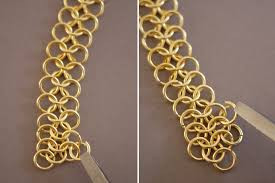 make chain necklace images Diy chainmail necklace honestly wtf jpg