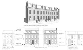 design and site plan for 64 townhomes at lafayette square praxair