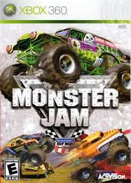 monster truck show video monster jam 2007 playstation 2 box cover art mobygames