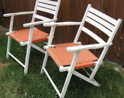 Vintage Wood Chairs Wood Folding Chair Etsy