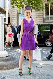 which color of shoes is best to wear with a purple dress fashion