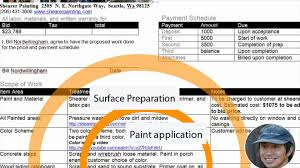 house painting estimate youtube
