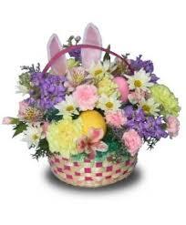 basket arrangements hippity hoppity easter flower basket basket arrangements