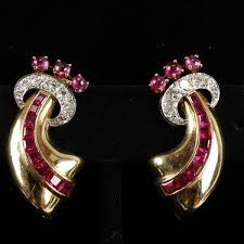 clip on earrings dublin 447 best jewellery ruby images on gemstones jewelery