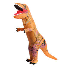 Halloween Blow Costumes Adults Rex Inflatable Dinosaur Costume Funny Jurassic Halloween
