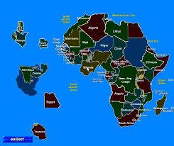 africa map 54 countries bill kerr africa map progress