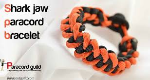 paracord bracelet buckle make images Shark jaw bone bracelet paracord guild jpg