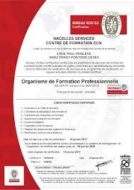 offre d emploi bureau veritas centre de formation certifié veriselect ecn formation
