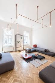 livingroom lighting copper and home batlab remodels house with web lights in budapest