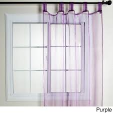 Top Curtains Inspiration Cool Sheer Tab Top Curtains Inspiration With Best Home Fashion Inc