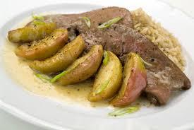 cuisiner du foie de veau foie de veau aux pommes grazia