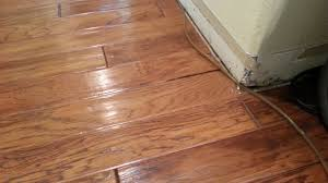 How To Fix Swollen Laminate Flooring Engineered Hardwood Flooring Water Damage U2022 Xactfloors