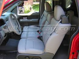 2010 ford f150 seat covers ford f 150 leather interiors