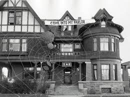 the sigma alpha epsilon house during homecoming msu historic