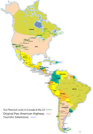 Map Of America Continent by Map Of American Continent My Blog
