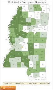 Mississippi County Map Mississippi Rankings Data County Health Rankings U0026 Roadmaps