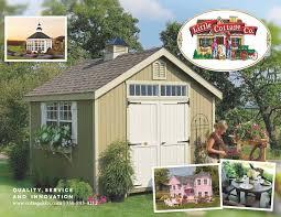 fancy storage sheds cottage kits playhouses little cottage company storage shed