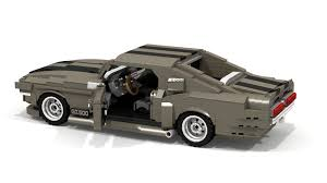Black Mustang 1967 Lego Ideas 1967 Ford Mustang Shelby Gt500 Fastback Ealanor
