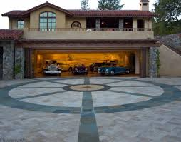 fantastic modern garage design in deluxe house neoteric house with