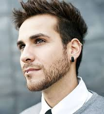mens ear piercings men s helix piercing pinteres