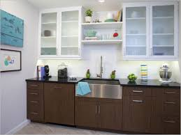 Two Tone Kitchen Walls Frosted Glass Tile Backsplash Inspirational Interior Frosted White