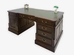 Schreibtisch Antik Schreibtisch Partnerdesk Büromöbel Antik Stil Mit Grüner
