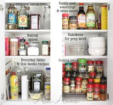 Narrow Spice Cabinet Pantry Cabinet How To Organize Kitchen Cabinets And Pantry With