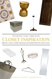 closet makeover mood board the holliday collective