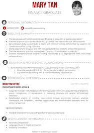 Resume Accounting Graduate How To Write Resume Singapore Free Resume Example And Writing
