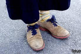 ribbon shoelaces suede shoes w ribbon shoelaces tokyo fashion news