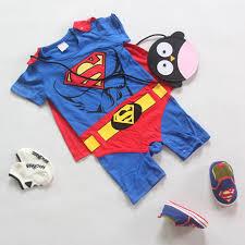 Superman Toddler Halloween Costume Aliexpress Buy Superman Children Halloween Costumes Suit