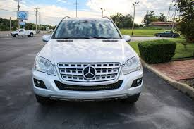 2009 silver mercedes benz ml350 awd trust auto used cars
