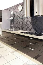 kitchen backsplash wallpaper ideas pictures of kitchens modern black kitchen cabinets kitchen 1