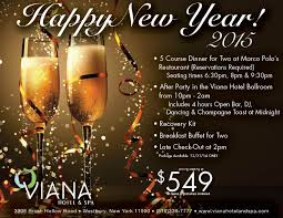 new years party package ring in the new year at viana hotel and spa