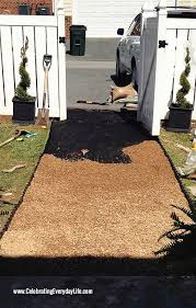 How To Make A Flagstone Patio With Sand Have The Best Yard On The Block With A Diy Pea Gravel Path