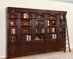 elegant bookcase library wall unit 22 in bookcase headboard