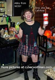 Abby Ncis Halloween Costume Halloween Pictures Halloween Party Pics Cyberwolfman