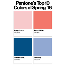 pantone 2016 colors the colors you ll be wearing next spring rose quartz buttercup