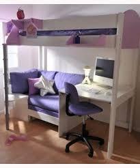 hochbett mit schreibtisch und sofa de stompa 2a casa hochbett mit schreibtisch bett sofa