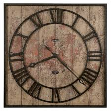 oversized old world wall clock