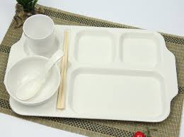 tray plates 16 inch korean fast food tray plate plastic imitation porcelain