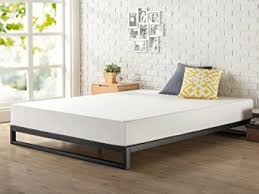 Low Profile Bed Frame King Zinus 7 Inch Heavy Duty Low Profile Platforma Bed