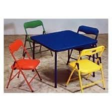 children s card table and folding chairs children s folding table folding chairs furniture set amazon ca