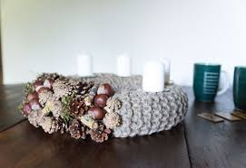 natural advent wreath christmas wreath rustic advent wreath