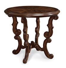 Round Foyer Table by Beautiful Round Accent Table With Wood Accent Table Industrial